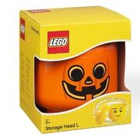 移动专享 : LEGO 乐高 room收纳盒 万圣节南瓜头整理箱