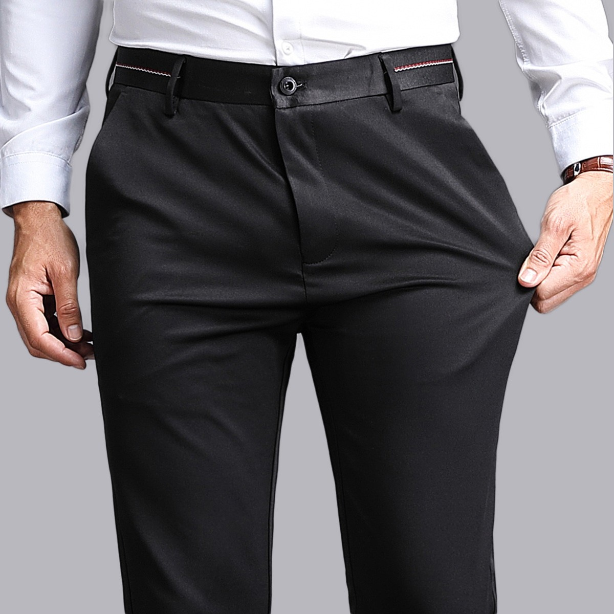 FORDOO 虎都 FDMX80190802 男士西裤