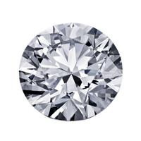 Blue Nile 1.00克拉圆形切割钻石(非常好切工 D级成色 SI2 净度)