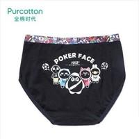 Purcotton 全棉时代 同道大叔星座IP款 P311930302701160 女士纯棉三角裤