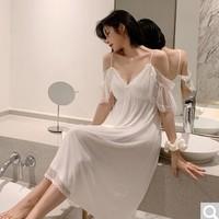 PEANOJEAN 6745 女士蕾丝公主睡裙
