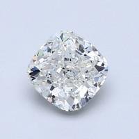 Blue Nile 1.00克拉公主方形钻石(非常好切工 E级成色 SI2净度)