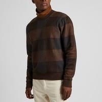 UNIQLO 优衣库 421256  男士格纹羊毛衫