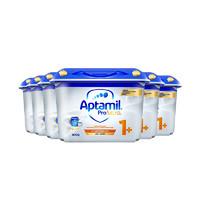 29日10点:Aptamil 德国爱他美 白金版 幼儿配方奶粉 1+段 800g 6罐