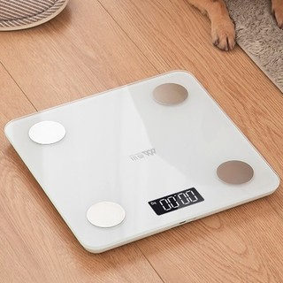 SENSSUN 香山 香山智能体脂称电子秤体重秤家用人体精准充电女小型称重测脂肪
