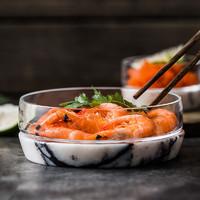 IF获奖 土耳其Nude水晶碗透明玻璃沙拉碗甜品碗 日式酒吧小吃碟子