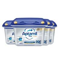 Aptamil 爱他美 白金 婴儿奶粉 pre段 800g 4罐装 *2件