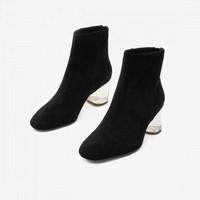 15MINS F5GUUU01ZU1DD9 女款时尚潮流短靴