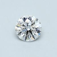 Blue Nile  0.50克拉圆形切割钻石(非常好切工 D级成色 VVS2净度)