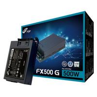 京东PLUS会员:FSP 全汉 FX500 G 额定500W FLEX小1U电源(80PLUS银牌/全模组/五年质保)
