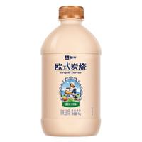 有券的上、京东PLUS会员:MENGNIU 蒙牛 欧式炭烧风味发酵乳 1kg *6件