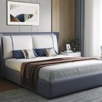 21日0点、双11预售:CHEERS 芝华仕 C055 科技布储物床 1.5/1.8m床