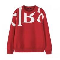 唯品尖货:Semir 森马 14A019070327 大字母针织衫