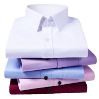 Obutlthen 欧比森 斜纹男士衬衫 长短袖可选 S-5XL码