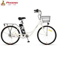 PHOENIX 凤凰 50455928098 新国标24寸男女电动自行车