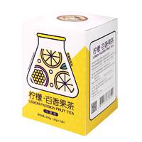虎标 冻干柠檬蜂蜜百香果花茶茶包 袋装100g  *3件