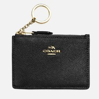 银联返现购:COACH 蔻驰 Crossgrain 女士钱包