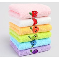 grace 洁丽雅 儿童纯棉卡通毛巾 6条装