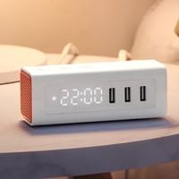 BULL 公牛 UUP152 usb床头闹钟充电插排