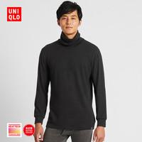 UNIQLO 优衣库 HEATTECH ULTRA WARM 420942 男士两翻领T恤