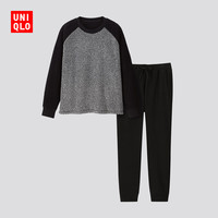 UNIQLO 优衣库 418500 男士摇粒绒套装