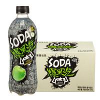 健力宝 爆果汽 苹果汁 苏打饮料(含气型)480ml*15瓶 *3件