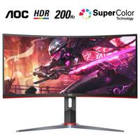 AOC 冠捷 CQ29G2Z  29英寸VA曲面显示器(2560×1080、120%sRGB、200Hz、1500R)