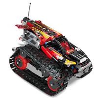 宇星模王 YX13023 履带赛车 红色