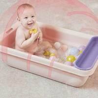 京东PLUS会员:babycare 大容量宝宝洗澡盆