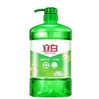 百亿补贴:Liby 立白 天然茶籽洗洁精 1kg*3瓶