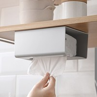 移动专享:Baldauren 免打孔挂壁式纸巾盒 2个