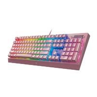新品发售:RAZER 雷蛇 黑寡妇蜘蛛 V3 机械键盘 粉晶