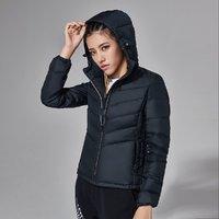 李宁 训练系列 AYMN026 女款运动羽绒服