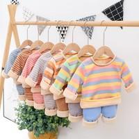 鹿麻麻 儿童保暖内衣套装