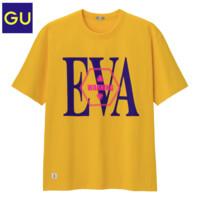 GU 极优 x 新世纪福音战士联名 326262 短袖T恤