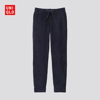 UNIQLO 优衣库 421413 男士摇粒绒松紧长裤