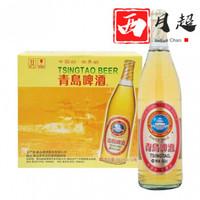 青岛啤酒大白金640ml*12瓶整箱一厂登州路56号生产