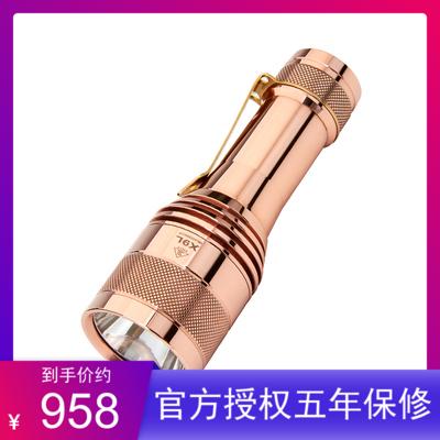 Lumintop雷明兔FW21 X9L 红铜/黄铜版21700电池SBT90.2 LED手电