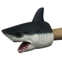 移动专享:乐加酷  软胶动物手套创意玩具 鲨鱼