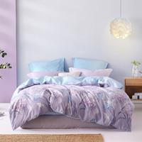 唯品尖货:MERCURY 水星家纺 繁华梦语 全棉四件套床笠款 1.2m床