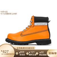 CAT/卡特休闲靴男2020春夏新品COLORADO高帮潮流工装靴P724557J1BDC35 橙色 39