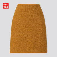 UNIQLO 优衣库 420364 女装羊毛混纺迷你裙