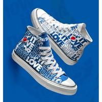 Pepsi 百事 70839030071 男士休闲帆布鞋