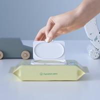 聚划算百亿补贴:Purcotton 全棉时代  婴幼儿湿纸巾 80抽X3袋