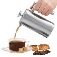 焙印 骑士法压壶 304不锈钢咖啡壶  350ml