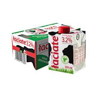 Laciate兰雀 全脂纯牛奶 500ml*8盒 *2件