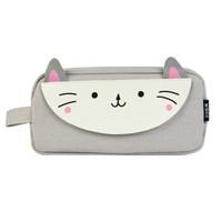 M&G 晨光 APBN3675 别咬我系列 小猫咪大号方形笔袋 *6件
