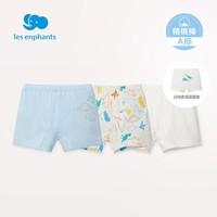 Les enphants 丽婴房 儿童平角裤 3条装