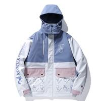 ROOSTER CHAMPION 法国公鸡冠军 A10117 男士拼色棉外套