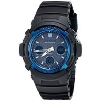 CASIO 卡西欧 G-SHOCK AWG-M100-1ACR 太阳能电波手表